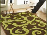 Lime Green and Black area Rug Brown and Lime Green area Rugs