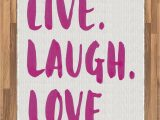 Live Laugh Love area Rugs Amazon Ambesonne Live Laugh Love area Rug Happy Life
