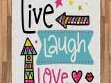 Live Laugh Love area Rugs Amazon Ambesonne Live Laugh Love area Rug Lively