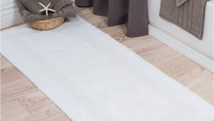 Long White Bath Rug Take A Look at This White Reversible Long Bath Rug today