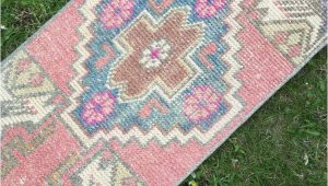 Low Pile Bath Rugs Eclectic Primitive Hand Knotted Turkish Bath Rugstunning