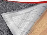 Low Profile Bathroom Rug Iprimio Bathroom Mat for Shower Bath Low Profile Non Slip Nursing Homes Bathtub and Sink – 35×23 Gray Plaid Design – Duraloop Anti Slip Durable