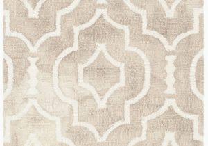 Lowes area Rugs 10 X 14 Safavieh Dip Dye Rug 10 X 14 Wool Beige Ivory
