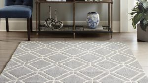 Lowes Carpets and area Rugs Allen Roth Shae 8 X 10 Grey Indoor Geometric Mid Century Modern area Rug
