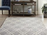 Lowes Living Room area Rugs Allen Roth Shae 8 X 10 Grey Indoor Geometric Mid Century Modern area Rug