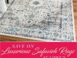 Lowes Living Room area Rugs Big Savings On Safavieh Rugs now Thru May 8 at Lowe S Save