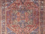 Lucca Red Blue Rug Lucca by Magnolia Home Lf 09 Red Blue Rug