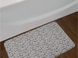 Luxe Microfiber Chenille Bath Rug with Poppy Boxes Abstract Agriculture Bath Rug