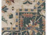 Machine Washable area Rugs 5×7 Malileh Heriz Emerald Rug