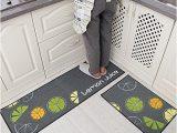 Machine Washable Rubber Backed area Rugs Home Cal Kitchen Non Slip Matrubber Backingmachine