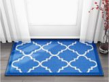 Machine Washable Rubber Backed area Rugs Well Woven Non Skid Slip Rubber Back Antibacterial area