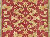 Macy S area Rugs 10×14 Safavieh Anatolia Collection An527a Handmade Traditional oriental Burgundy and Sage Wool area Rug 4 X 6