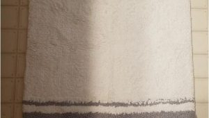 "Madison Park Bathroom Rugs Mp72 1543 Spa Cotton Bath Rug 27 X 45"" Grey Set Includes 1 Bath Rug by Madison Park"