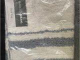 "Madison Park Spa Bath Rug Mp72 1543 Spa Cotton Bath Rug 27 X 45"" Grey Set Includes 1 Bath Rug by Madison Park"