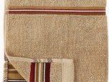 Madison Stripe Bath Rug Skl Home by Saturday Knight Ltd Madison Stripe Red Hand towel Tan