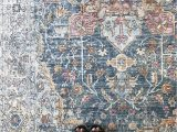 Magnolia Ophelia Rug Blue Multi Denim Rose Apricot which Color is Your Favorite In the