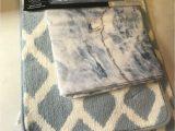 Mainstays Contour Bath Rug Mainstays Marble 15 Piece Shower Curtain Bath Set