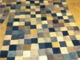 Make area Rug From Carpet Patchwork Rug Made From Free Carpet Samples and Gorilla Tape
