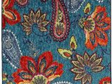 """Maples Paisley Floral area Rug Mohawk Home Multicolor New Wave Whinston Paisley Floral area Rug 2 6""""x3 10"""""""