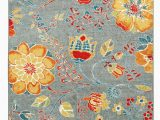 Maples Paisley Floral area Rug Mohawk Home Strata Free Spirit Floral Printed area Rug 5 X8 Grey