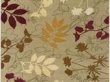 Maples Paisley Floral area Rug Surya Mountain Home Mth1013 Brown Red Floral and Paisley area Rug