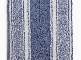 Martha Stewart Memory Foam Bath Rug Martha Stewart Collection Cotton Reversible 17 X 24 Stripe Bath Rug Caspian Blue Walmart