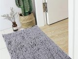 "Mauve Bathroom Rug Sets Bathroom Rugs Mat 20"" X 30"" 17"" X 24"" Set Grey Bath Mat Super Absorbent Bath Rug Machine Washable for Shower Bath Room Bedroom and Kitchen 20 X"