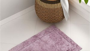 Mauve Bathroom Rug Sets Spaces Mauve Rectangular Hygro Cotton Bath Rug