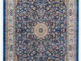 Mcelrath Blue Brown area Rug Golz Floral Blue Brown area Rug