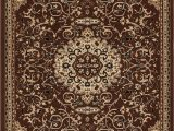 Mcelrath Blue Brown area Rug isfahan Brown Traditional Rug In 2020