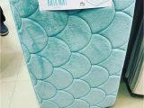 Memory Foam Bath Rug Mermaid Memory Foam Bath Mat From Primark Uk