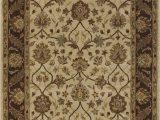 Menards area Rugs 9 X 12 Jewel Jw33 Ivory Chocolate Rug