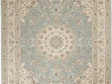 Menards Indoor Outdoor area Rugs Nourison Living Treasures 8 X 10 Aqua and Ivory area Rug