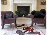Mickey and Minnie Mouse area Rug Classic Mickey Living Room Disney Home I Disney Decor I