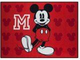 Mickey Mouse Bathroom Rug Walmart Disneys Mickey Mouse Nylon Room Rug 46 X 39