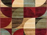 Mid Century Modern area Rugs for Sale Well Woven Mid Century Modern Multicolour Geometric Modern area Rug Easy to Clean Stain Shed Free Abstract Contemporary Colour Block Boxes soft Living