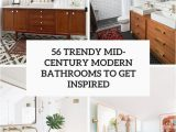 Mid Century Modern Bath Rug 56 Trendy Mid Century Modern Bathrooms to Get Inspired