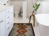 Mid Century Modern Bath Rug the Hidden Agenda Mid Century Modern Bathroom Rug