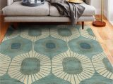 Mid Century Style area Rugs Brighten Your Living Room with the Woodbridge are Rug From