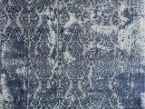 Midnight Blue area Rug Divisadero Midnight Blue Cream area Rug