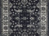 Midnight Blue area Rug Midnight Blue Gray Ziegler Pakistan Pattern Distressed
