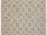 Mint Green and Brown area Rug Alhambra Seafoam area Rug