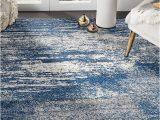 Modern Blue Gray Rug Casandra Dunescape Modern Blue Grey Rug