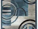 Modern Blue Gray Rug Newport Collection Blue Gray Abstract Modern area Rug Walmart