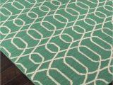 Modern Emerald Green area Rug Addison and Banks Flat Weave Abr1480 Emerald Green area Rug Clearance