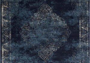 Modern Navy Blue Rug Navy Blue Light Blue Beige oriental Distressed – Modern