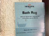 "Mohawk Home Bathroom Rugs Mohawk Cotton Reversible Bath Rug Size 21""x34"""