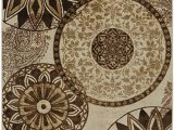 Mohawk Home Medallion Printed area Rug Mohawk Home New Wave Inspired India Neutral Medallion Printed area Rug 7 6×10 Tan