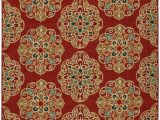 Mohawk Home Medallion Printed area Rug Mohawk Home soho Kolam Red Medallion Printed area Rug 7 6×10 Red