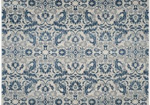 Montelimar Ivory Blue area Rug Montelimar Floral Ivory Blue area Rug